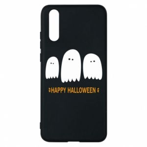 Phone case for Huawei P20 Three ghosts Happy halloween - PrintSalon