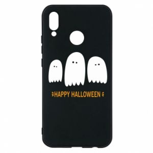 Phone case for Huawei P20 Lite Three ghosts Happy halloween - PrintSalon