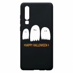 Phone case for Huawei P30 Three ghosts Happy halloween - PrintSalon