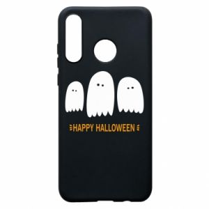 Etui na Huawei P30 Lite Three ghosts Happy halloween