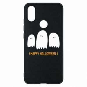 Phone case for Xiaomi Mi A2 Three ghosts Happy halloween - PrintSalon
