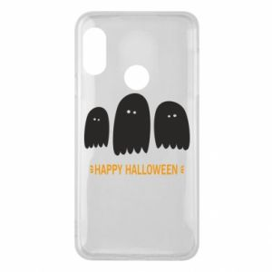 Phone case for Mi A2 Lite Three ghosts Happy halloween - PrintSalon
