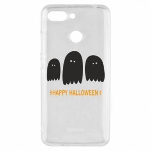 Phone case for Xiaomi Redmi 6 Three ghosts Happy halloween - PrintSalon