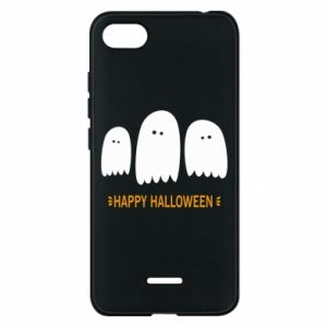 Phone case for Xiaomi Redmi 6A Three ghosts Happy halloween - PrintSalon