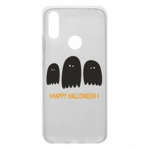 Phone case for Xiaomi Redmi 7 Three ghosts Happy halloween - PrintSalon