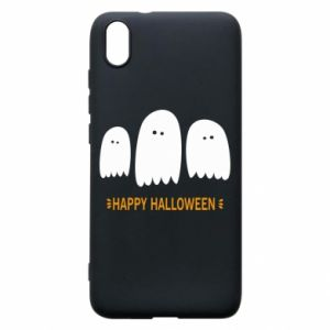 Phone case for Xiaomi Redmi 7A Three ghosts Happy halloween - PrintSalon