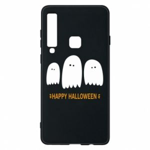 Phone case for Samsung A9 2018 Three ghosts Happy halloween - PrintSalon
