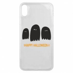 Etui na iPhone Xs Max Three ghosts Happy halloween