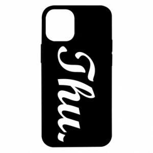 Etui na iPhone 12 Mini Thursday