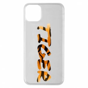 Phone case for iPhone 11 Pro Max Tiger lettering texture