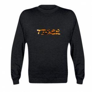 Bluza dziecięca Tiger lettering texture