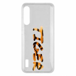 Etui na Xiaomi Mi A3 Tiger lettering texture