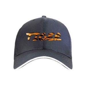 Cap Tiger lettering texture