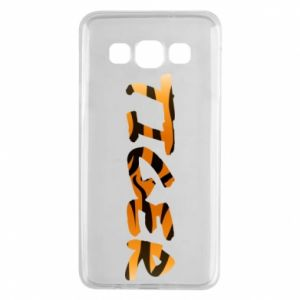 Etui na Samsung A3 2015 Tiger lettering texture