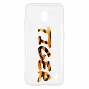 Etui na Nokia 2.2 Tiger lettering texture