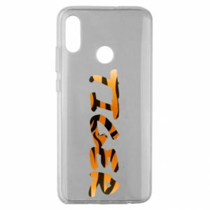 Etui na Huawei Honor 10 Lite Tiger lettering texture