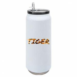 Puszka termiczna Tiger lettering texture