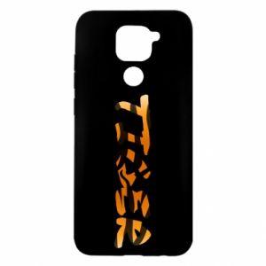 Etui na Xiaomi Redmi Note 9/Redmi 10X Tiger lettering texture
