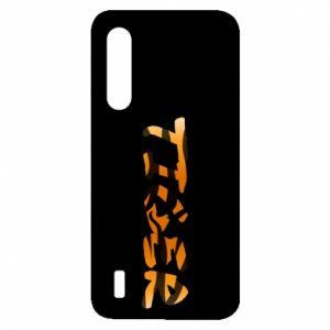 Etui na Xiaomi Mi9 Lite Tiger lettering texture