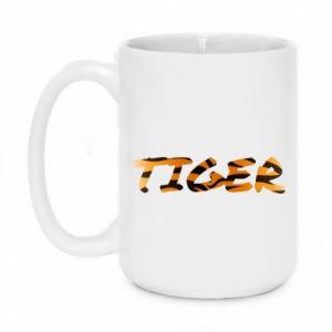 Kubek 450ml Tiger lettering texture - PrintSalon
