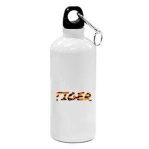 Bidon turystyczny Tiger lettering texture