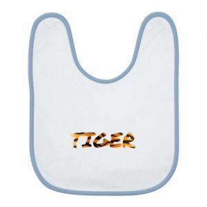 Bib Tiger lettering texture