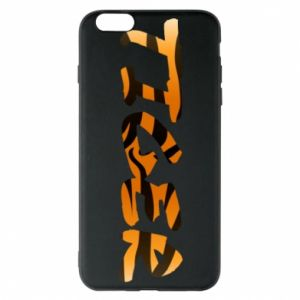 Etui na iPhone 6 Plus/6S Plus Tiger lettering texture