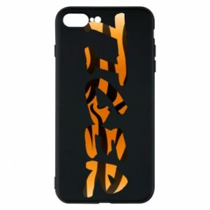 Phone case for iPhone 7 Plus Tiger lettering texture