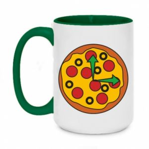 Kubek dwukolorowy 450ml Time for pizza