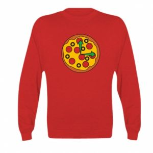 Bluza dziecięca Time for pizza