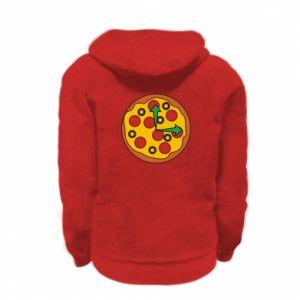 Bluza na zamek dziecięca Time for pizza