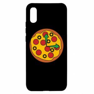 Etui na Xiaomi Redmi 9a Time for pizza