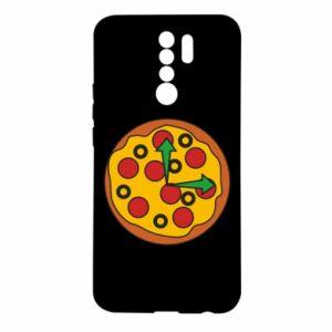 Etui na Xiaomi Redmi 9 Time for pizza