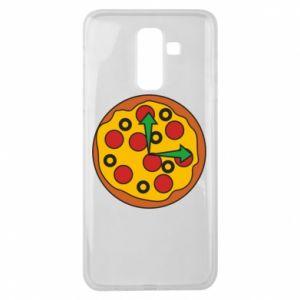 Etui na Samsung J8 2018 Time for pizza