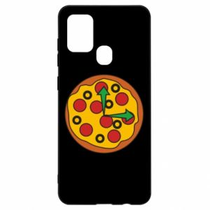 Etui na Samsung A21s Time for pizza