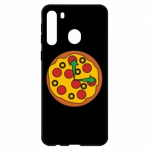 Etui na Samsung A21 Time for pizza