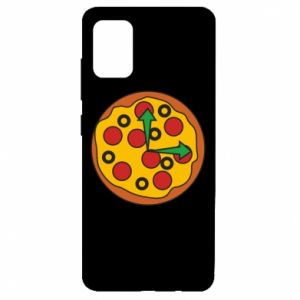 Etui na Samsung A51 Time for pizza