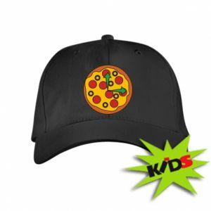 Czapeczka z daszkiem dziecięca Time for pizza