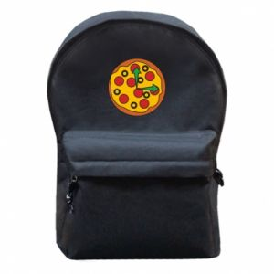 Plecak z przednią kieszenią Time for pizza
