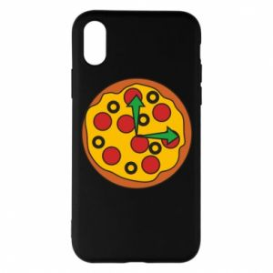 Etui na iPhone X/Xs Time for pizza