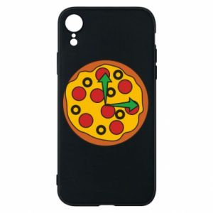 Etui na iPhone XR Time for pizza