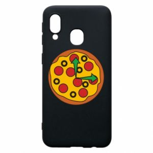 Etui na Samsung A40 Time for pizza