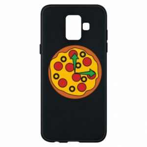 Etui na Samsung A6 2018 Time for pizza