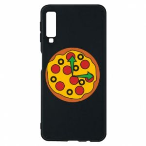 Etui na Samsung A7 2018 Time for pizza