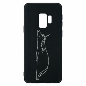 Etui na Samsung S9 Tired unicorn