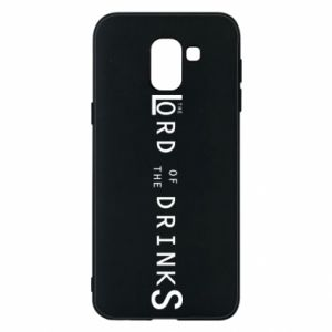 Phone case for Samsung J6 Tle Lord Of The Drinks