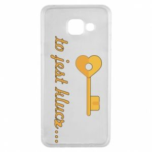 Samsung A3 2016 Case This is the key ...
