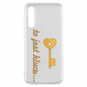 Huawei P20 Pro Case This is the key ...