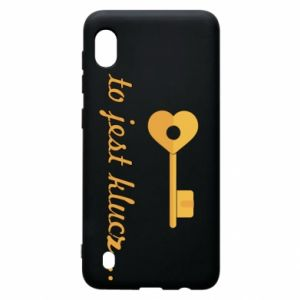 Samsung A10 Case This is the key ...