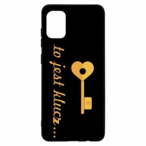 Samsung A31 Case This is the key ...